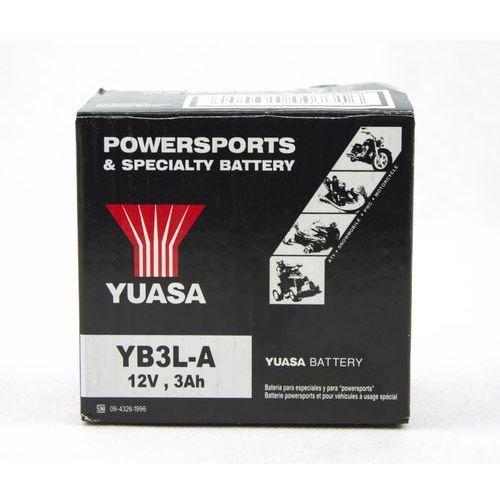 Akumulator motocyklowy Yuasa YB3L A 3Ah 32A