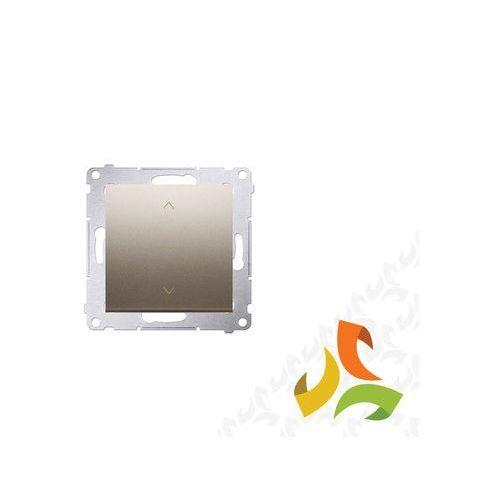 Wyłącznik żaluzjowy trójpozycyjny 1-0-2 złoty DZW1K.01/44 SIMON 54 PREMIUM