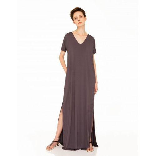 Sukienka z sercem (Kolor: brązowy, Rozmiar: Uniwersalny)
