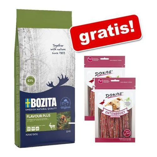 Duże opakowanie Bozita + 2 x 70 g Dokas Paski do żucia, półwilgotne gratis! - Sensitive, jagnięcina i ryż, 12 kg| -5% Rabat dla nowych klientów| Darmowa Dostawa od 89 zł i Super Promocje od zooplus!