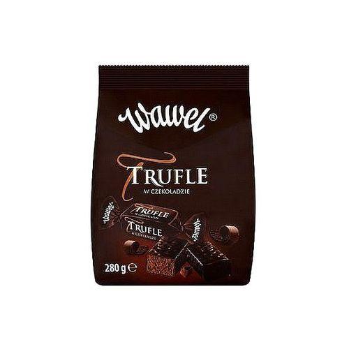 Trufle cukierki o smaku rumowym w czekoladzie Wawel 280g