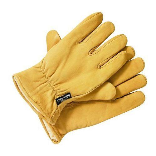 męskie rękawiczki rękawiczki lined leather gloves - m marki Dickies
