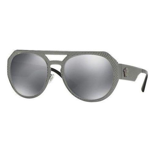 Okulary Słoneczne Versace VE2175 METAL MESH 10016G