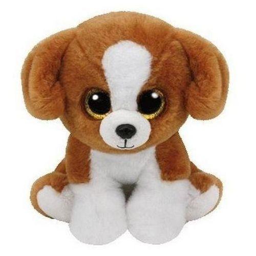 Ty inc Maskotka beanie babies snicky - brązowy-biały pies 15 cm 42182