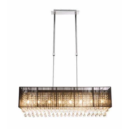 Lampa wisząca Globo Bagana 15095H2 8x3W G9 chrom/czarny, 15095H2