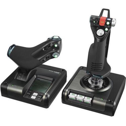 Joystick LOGITECH 945-000003 G Saitek X52 Pro Flight Control System + Zamów z DOSTAWĄ JUTRO! + DARMOWY TRANSPORT!