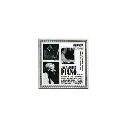 Jazz & Blues Piano 1934 - 1947 / Różni Wykonawcy (0714298565621)