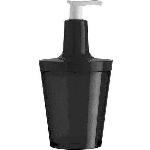 Dozownik do mydła Flow czarny, 5879526