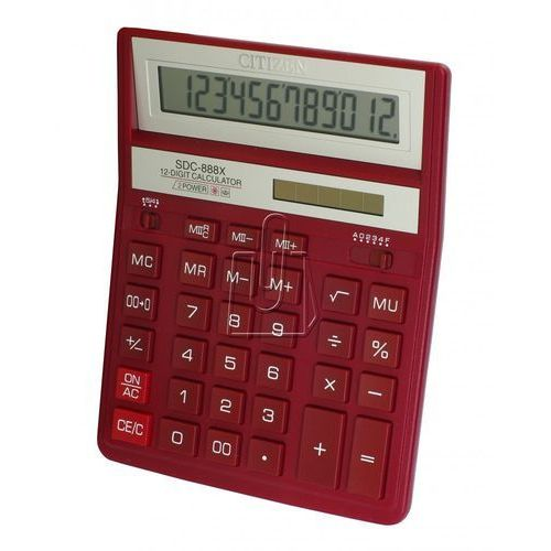 Kalkulator  sdc-888xrd marki Citizen