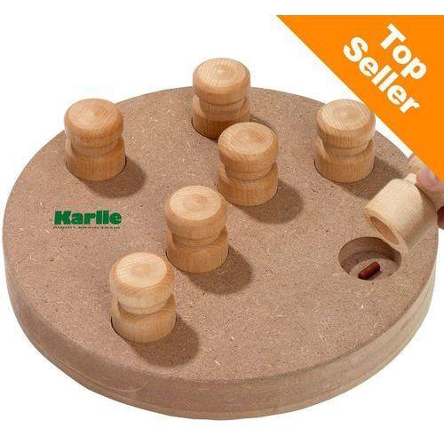 Karlie doggy brain train 2 w 1 zabawka dla psa - dla dużych ras: Ø 32 cm
