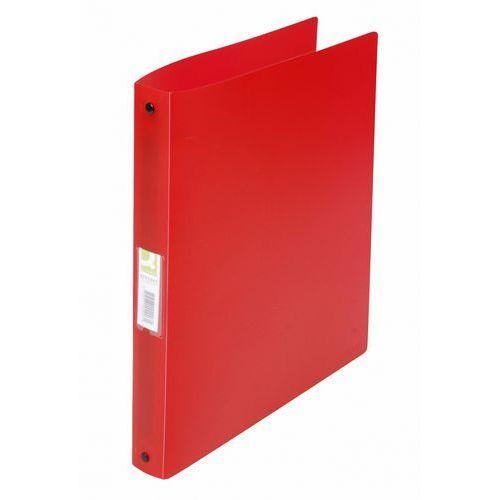 Segregator Q-CONNECT A4 4 ringi 25mm - czerwony, KF02907