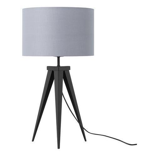 Lampa stołowa jasnoszara 55 cm stiletto marki Beliani