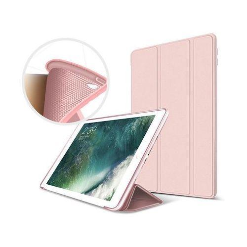 Etui Alogy Smart Case Apple iPad Air 2 silikon Różowe + Szkło - Różowy, kolor różowy