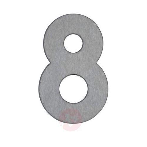 Numer domu 8 ze stali szlachetnej (4007235909289)
