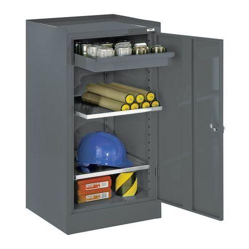 Szafa na narzędzia, z 1 szufladą, 2 półki, raster regulacji wysokości 40 mm, nie marki Mades