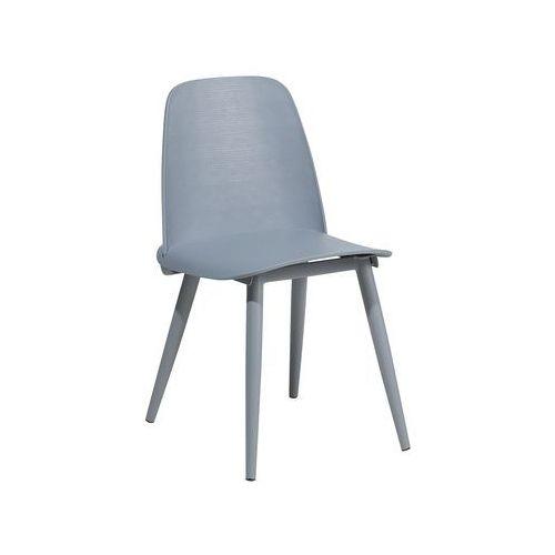 Krzesło do jadalni szare HAMILTON (7105279202261)