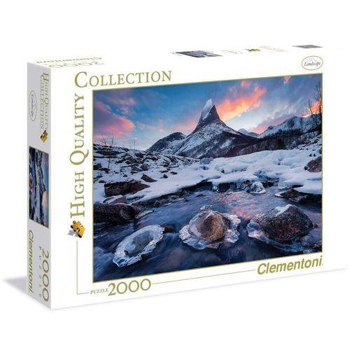 Puzzle Clementoni High Quality. 2000 elementów. Norwegia (32556) + zakładka do książki GRATIS