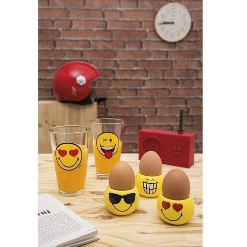 Zak!designs Zak! designs - szklanka 300 ml - happy smiley