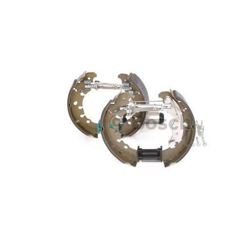 Bosch  kit superpro, zestaw szczek hamulcowych + cylinderek hamulca koła; zamontowany; z tyłu, 0 204 114 657