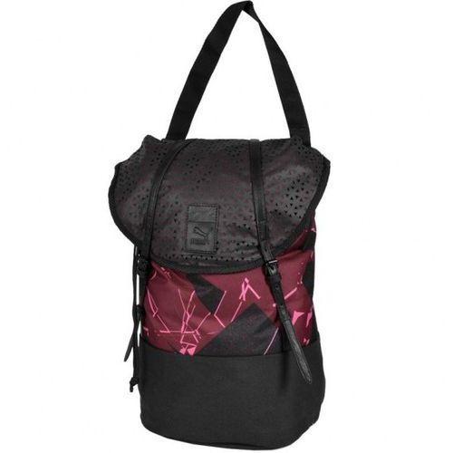 Plecak  urban pack czarno-bordowy 07342803 izimarket.pl marki Puma