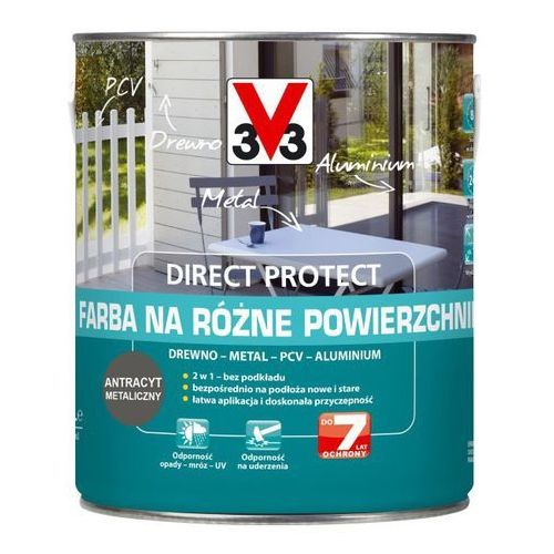 Farba V33 Direct Protect antracyt 2 5 l (3153895061599)