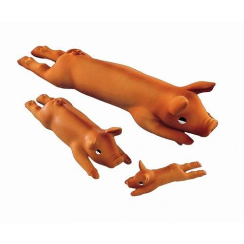 Nobby Świnka lateksowa leżąca piszcząca 13cm nr kat. 79464