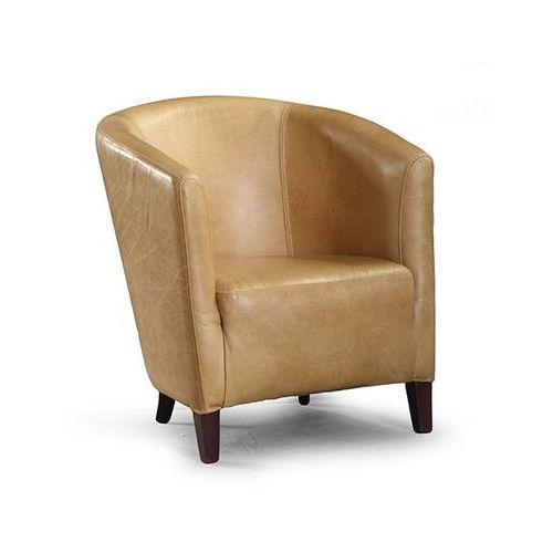 Fotel Estelia Grand Club, skóra naturalna, eko skóra, tkanina