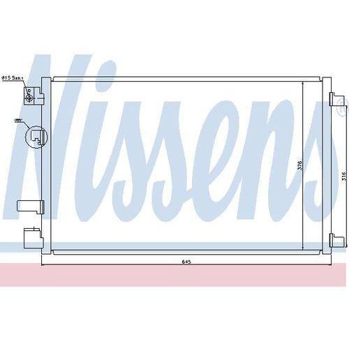 Skraplacz, klimatyzacja NISSENS 940040