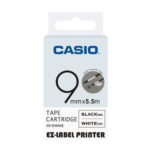 taśma etykiet elastyczna (do oznaczania kabli) xr-9hmwe, xr9hmwe marki Casio