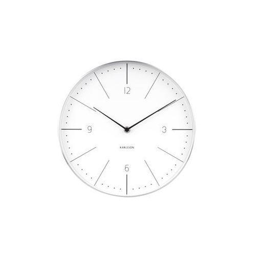 Zegar ścienny normann numbers white by marki Karlsson