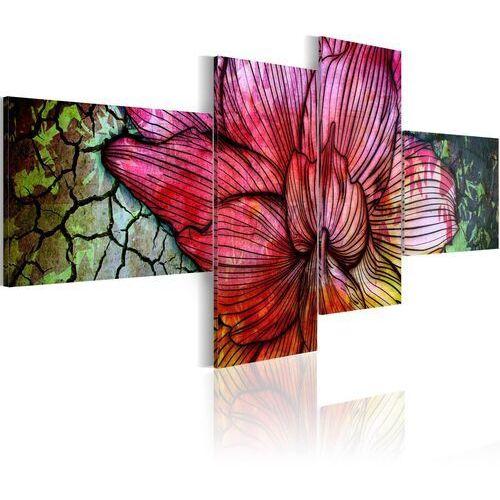 Obraz - tęczowy kwiat marki Artgeist