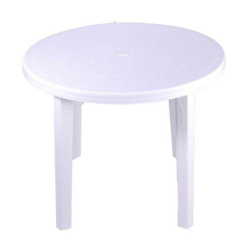 Stół Opal średnica 90 cm biały (5907795804101)