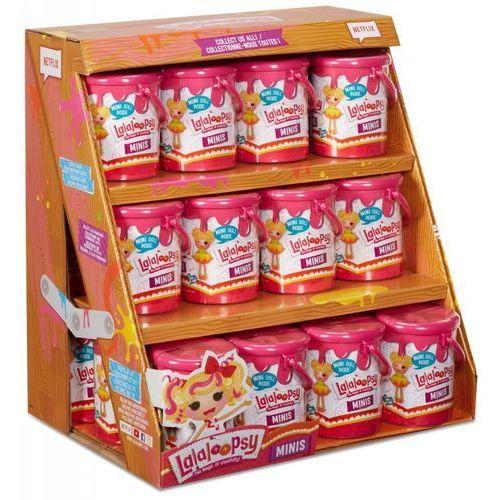Lalaloopsy mini lalaloopsy w pojemniczkach display 24 sztuki - marki Mga