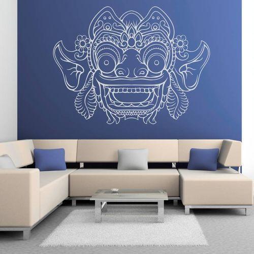 naklejka na ścianę maska z Bali 2095