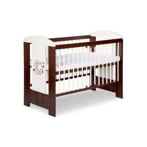 łóżeczko safari miś ecru orzech 120x60 marki Klupś