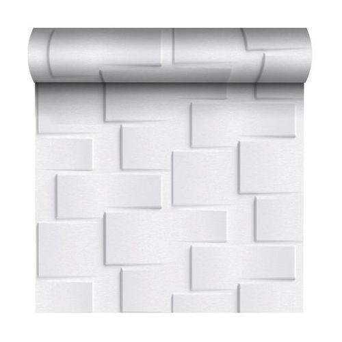 Tapeta domus 3d biała winylowa na flizelinie marki Grandeco