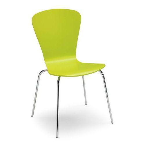 Aj produkty Krzesło do stołówki milla, sztaplowane, zielony