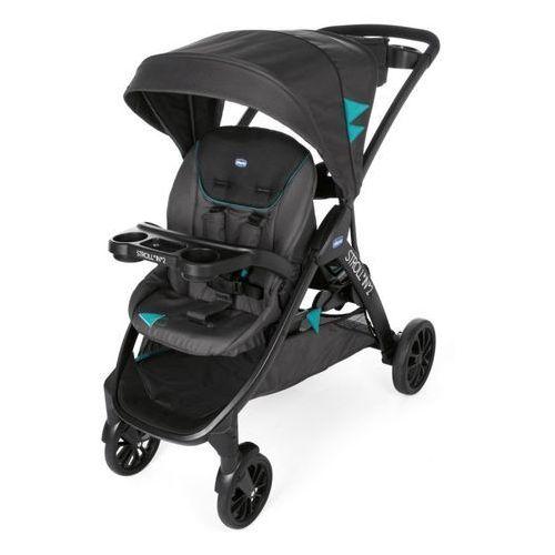 Podwójny wózek z dostawką Chicco Stroll in 2 (8058664092857)