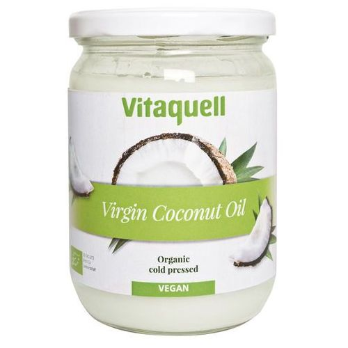 Olej kokosowy Virgin BIO 200g Vitaquell (4003247101840)