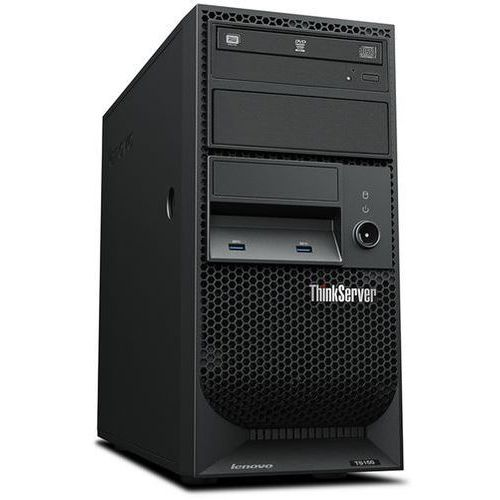 Serwer Lenovo ThinkServer TS150 / 4-Core Xeon E3-1225v6 3.3GHz / 8GB DDR4 ECC / 2x 1TB SATA w RAID1 / Windows Server 2012R2 Foundation - ZESTAW, 70UB001NEA
