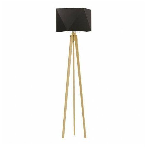 Drewniana lampa podłogowa BOMBAJ, 16602/34