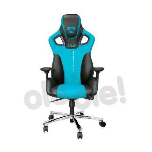 OKAZJA - Fotel E-Blue Cobra, Niebieski (EEC303BLAA-IA) Darmowy odbiór w 21 miastach!, EEC303BLAA-IA