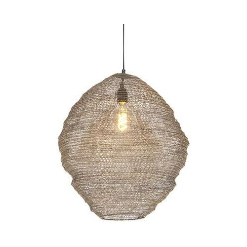 Orientalna lampa wisząca mosiądz 46cm - nidum mena marki Honsel