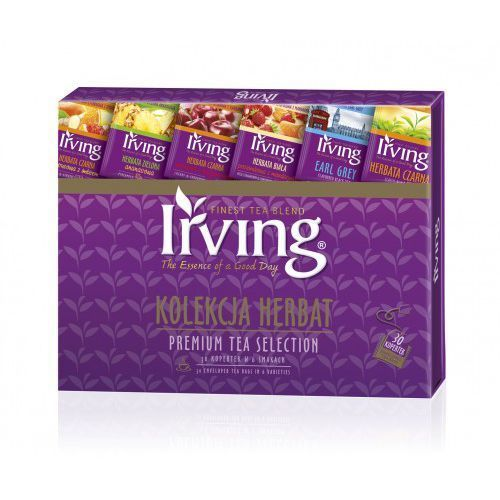 Kolekcja herbat premium tea selection 30kop. marki Irving