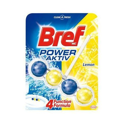 Chemia Kulki toaletowe bref power aktiv lemon, 50g (9000100625197)
