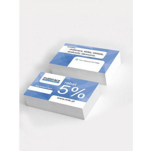 Frankhauer  reklama - wizytówki rabat 5% (100 szt.)