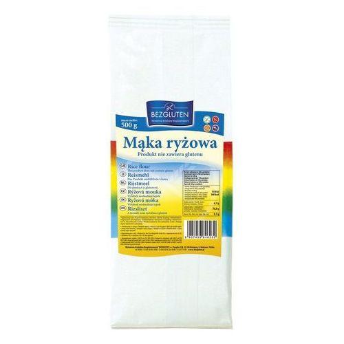 Mąka ryżowa 500g bezglutenowa BEZGLUTEN