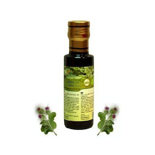 Olej łopianowy 100ml + pompa - produkt z kategorii- Oleje, oliwy i octy
