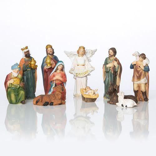 Produkt polski Klasyczna szopka bożonarodzeniowa