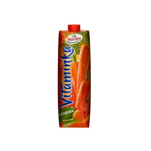 Hortex 1l vitaminka marchewka sok | darmowa dostawa od 150 zł! (5900500023163)